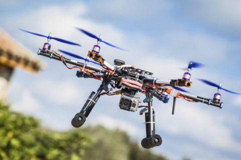 За летенето на дронове в България.